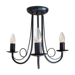 Čierny luster Light Prestige Celine