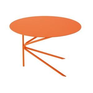 Oranžový konferenčný stolík MEME Design Twin
