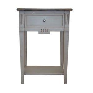 Vyšší odkladací stolík Belgique Grey