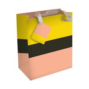 Darčeková taška Caroline Gardner Yellowe Peach