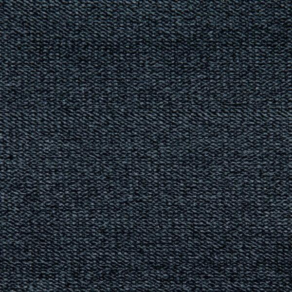 Tmavosivá dvojmiestna pohovka Vivonita Jonan, čierne nohy