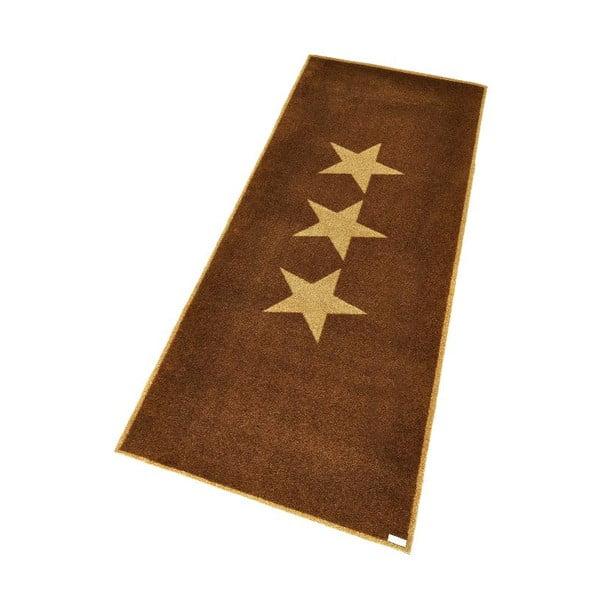 Rohožka Zala Living Stars Brown, 67 x 180 cm