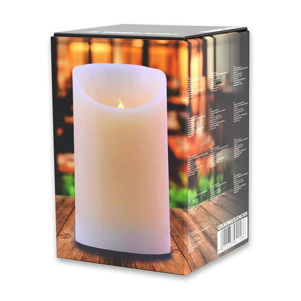 Svetelná sviečka DecoKing Subtle Celebration, výška 12,5 cm