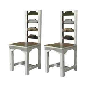 Sada 2 drevených jedálenských stoličiek Støraa Bond