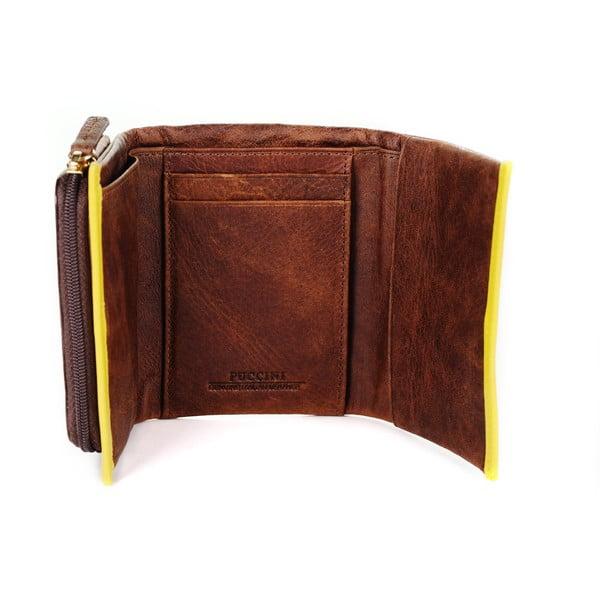 Kožená peňaženka Scafati Puccini