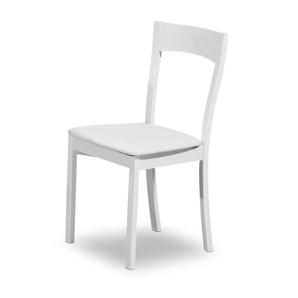 Jedálenská stolička Teddy, biela