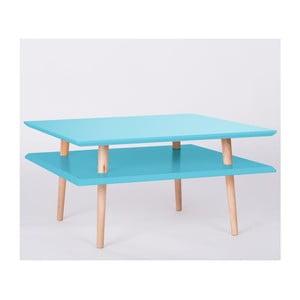 Konferenčný stolík UFO Square Dark Turquoise, 35 cm