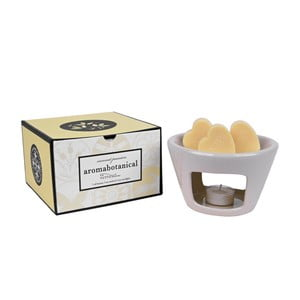 Aromalampa s vonnými voskmi s vôňou kokosu Ego Dekor Sweet Home, doba horenia 30hodín