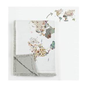 Prikrývka z mikrovlákna Really Nice Things Patchworld, 130×170 cm