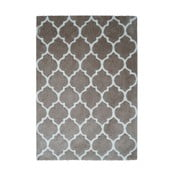 Sivo-hnedý koberec Smooth, 120x170cm