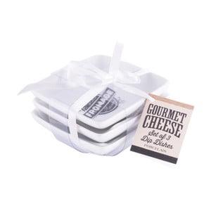 Sada 3 misiek z kameniny Creative Tops Gourmet Cheese