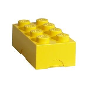 Žltý desiatový box LEGO®