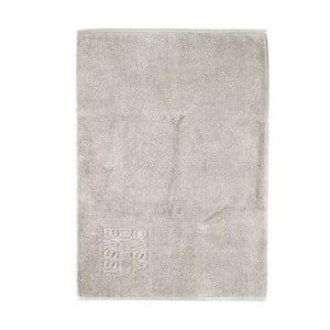 Svetlosivá bavlnená kúpeľňová predložka CasaDiBassi Basic,50×70cm