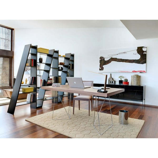 Hnedý stôl TemaHome Multi,180cm