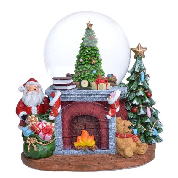 Hrajúca snežná guľa Ewax Snowy House
