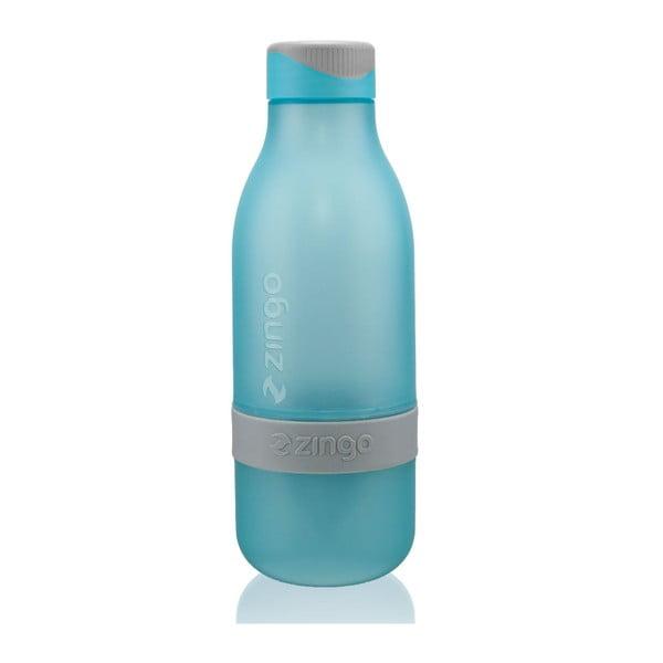 Fľaša na vodu s citrónom Zingo Blue