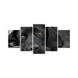 Viacdielny obraz Black&White no. 55, 100x50 cm