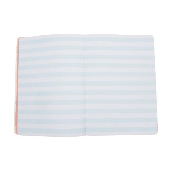 Modrý zápisník Busy B New Fashion, A5