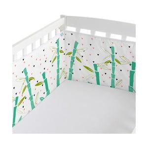 Výstelka do postele Panda Garden, 60x60x60 cm