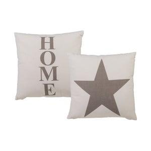 Obojstranný vankúš Out of the Blue Star and Home, 40 x 40 cm