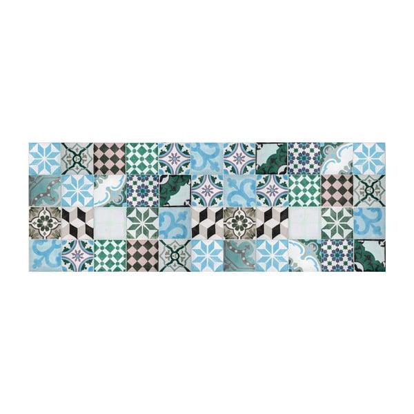 Vinylový koberec Mosaico Turquesa, 50x100 cm