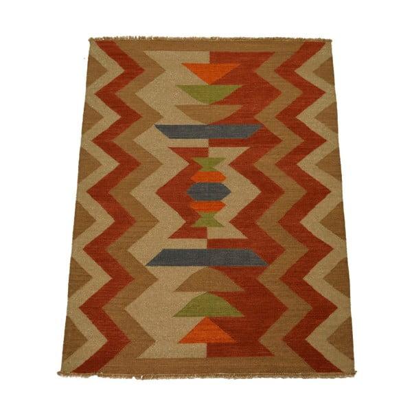 Vlnený koberec Kilim 14, 140x200 cm