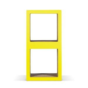 Malá kartónová knižnica Bit Due Yellow