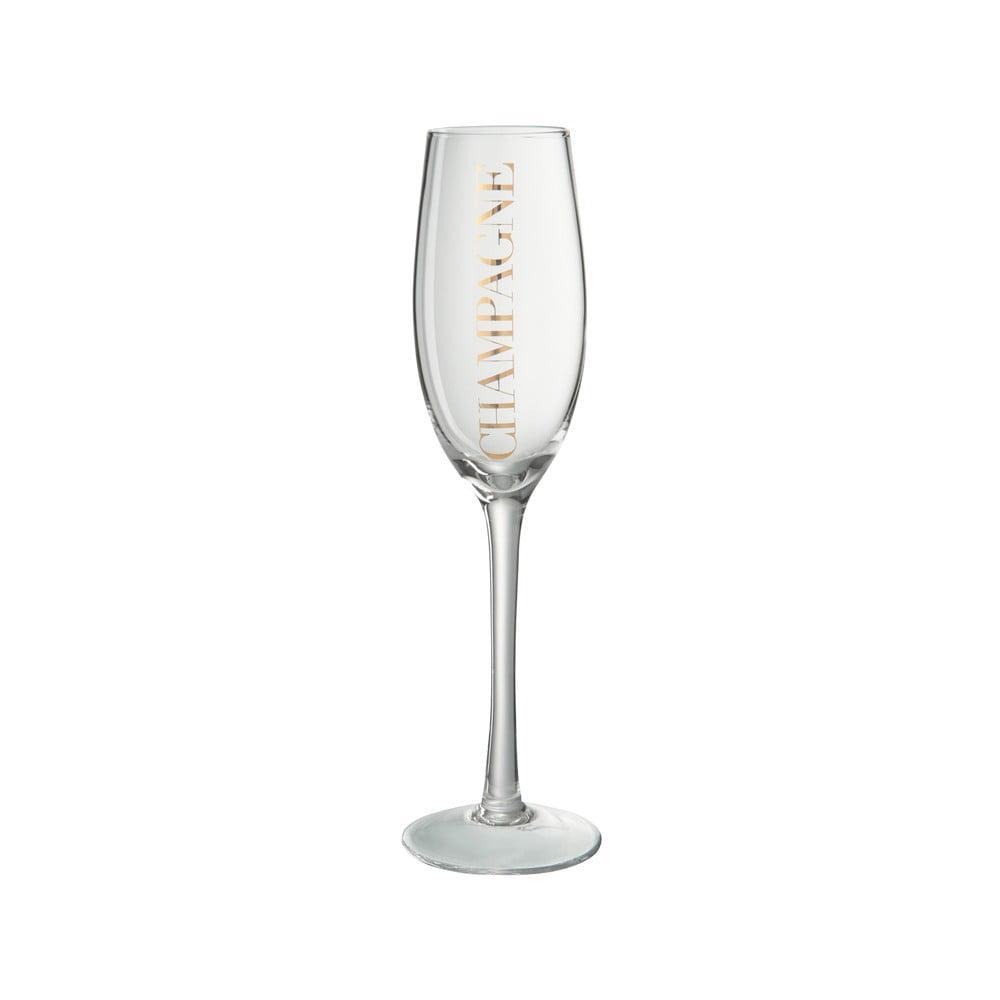 Pohár na šampanské J-Line Gold Elegance