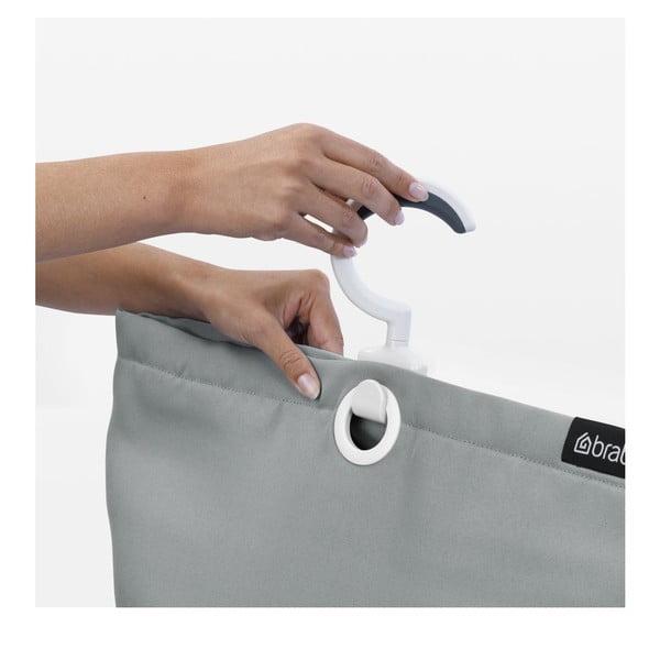 Závesná taška na bielizeň Space Grey, 35 l