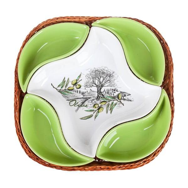 Misa v košíku Banquet Olives, 28 cm