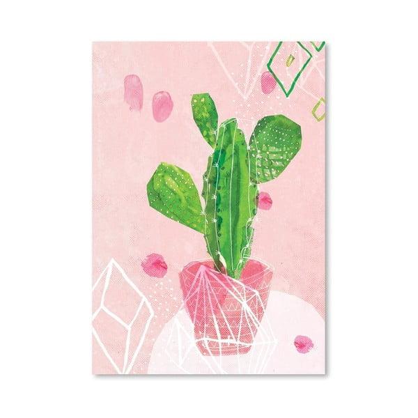 Plagát Pastel Cactus, 30x42 cm
