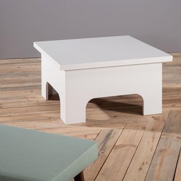 Konferenčný stolík Lizbon White