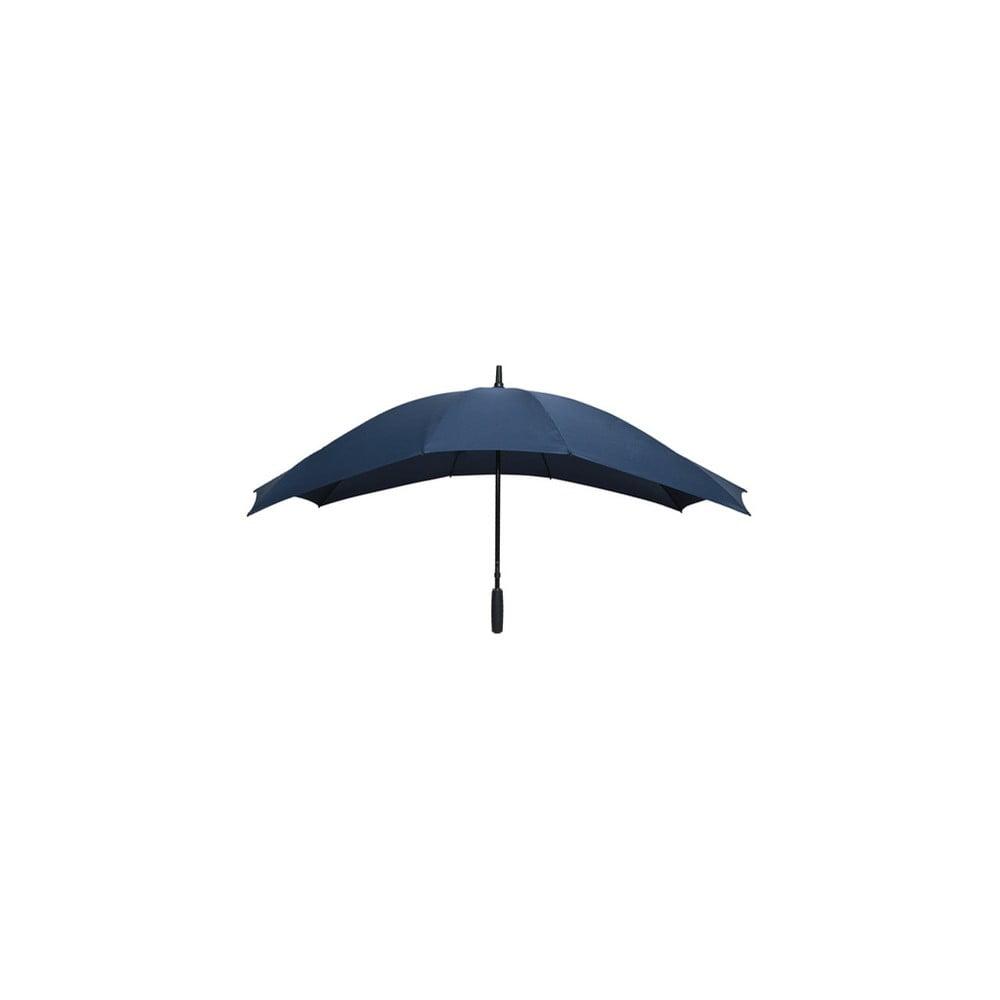 Tmavomodrý golfový dáždnik pre dve osoby Falconetti, dĺžka 150 cm
