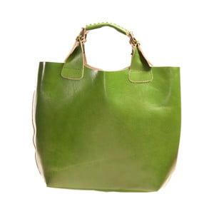 Kožená kabelka Andrea Cardone 2004 Light Green