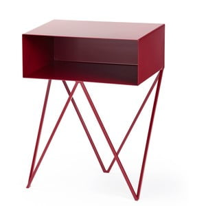 Bordó príručný stolík &New Robot