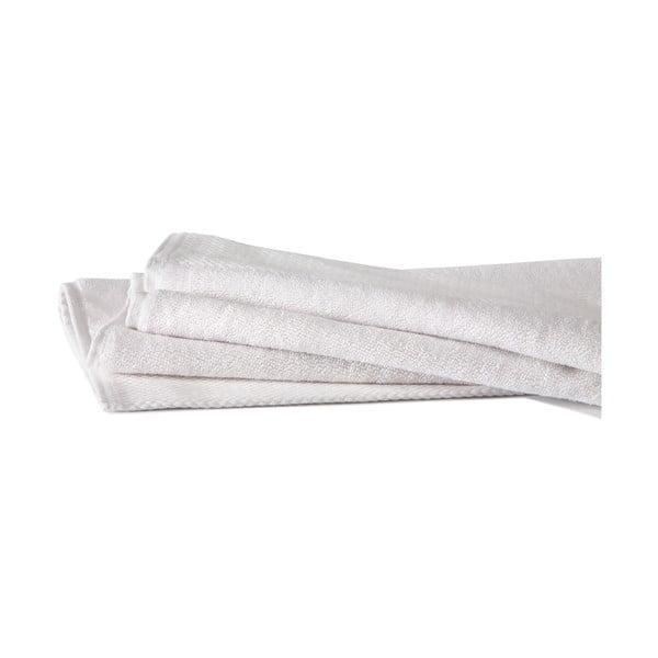 Biela kúpeľňová predložka Seahorse Pure, 50 x 90 cm