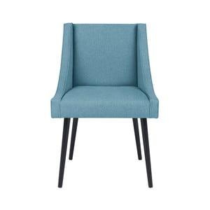 Svetlomodrá stolička Micadoni Home Massimo
