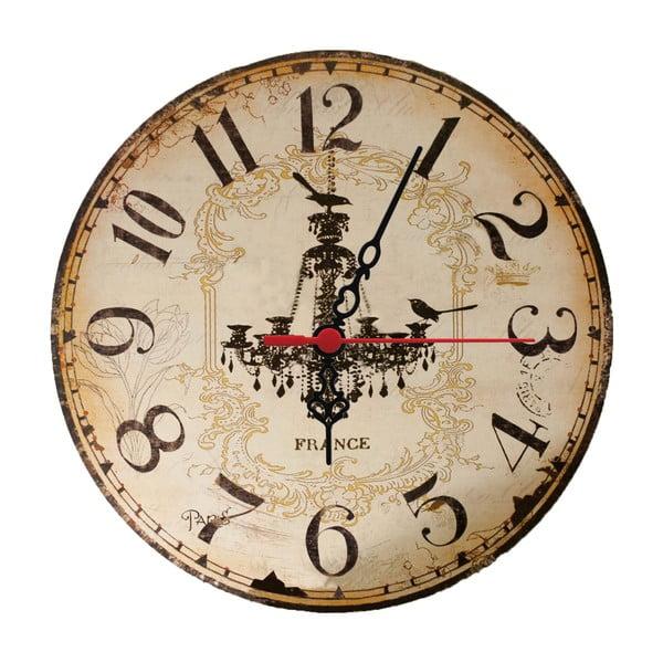 NástNástenné nné hodiny Chandelier, 30 cm