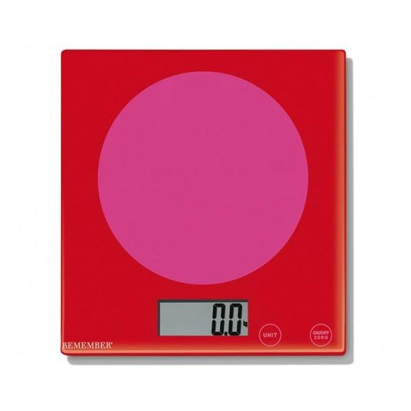 Kuchynská váha Remember Pink Meets Red