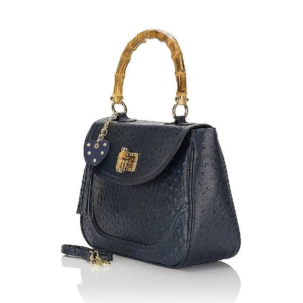 Kožená kabelka Giorgio Costa 15017 Blue