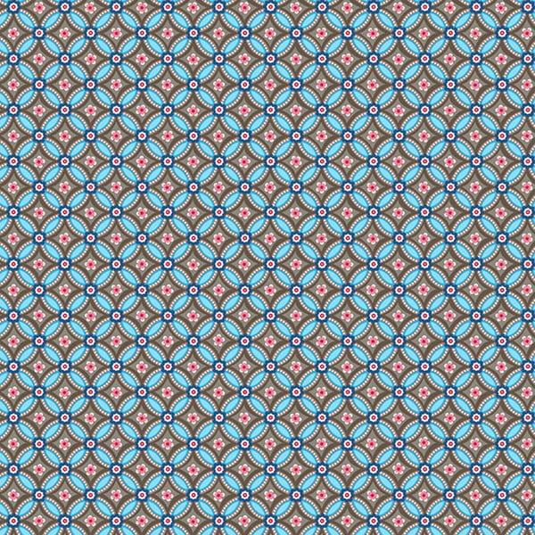 Tapeta Pip Studio Geometric, 0,52x10 m, hnedomodrá