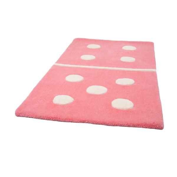 Detský koberec Domino New Rose, 60x120cm