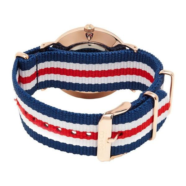Pánske hodinky Madison Stripe Red/White/Blue