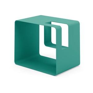 Zelený stojan na časopisy MEME Design Libris