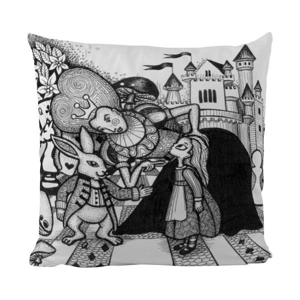 Vankúšik Black Shake Wonderland Queen, 50x50 cm