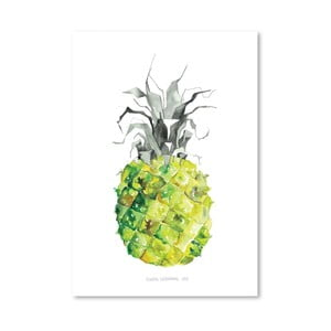 Plagát Pineapple Yellow, 30x42 cm