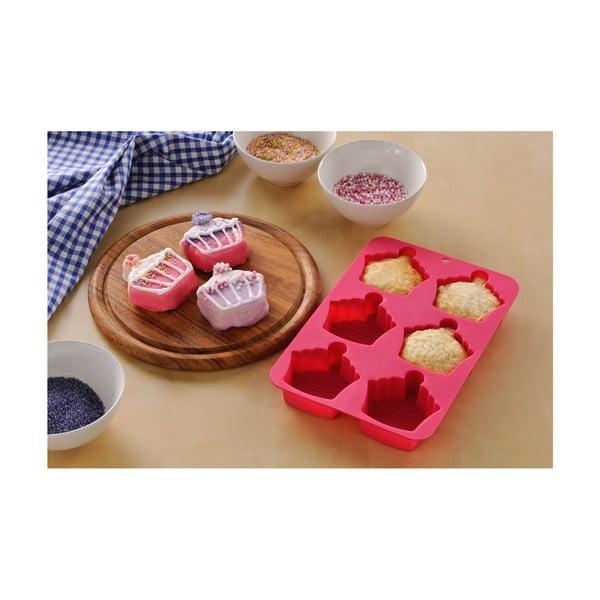 Sada formy, stierky a podložky Premier Housewares Cupcake Baking Pink, 3ks