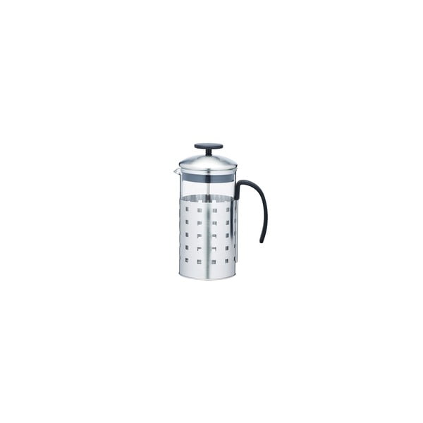 French press Le'Xpress Steel 1000 ml, na 8 šálok