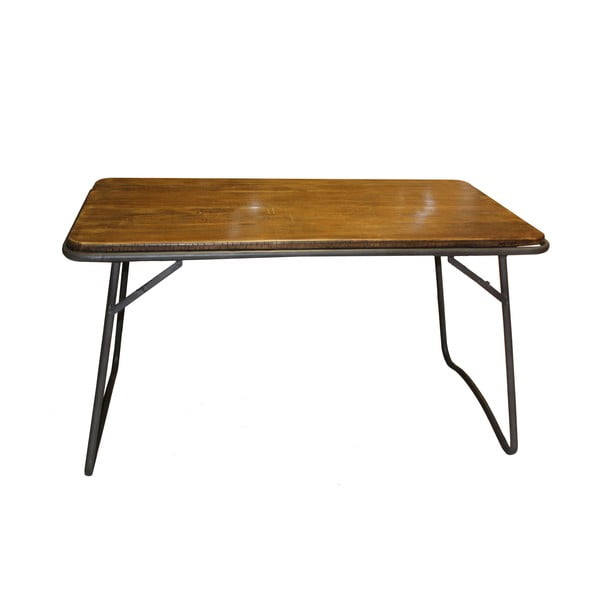 Drevený stôl Industrialis Iron