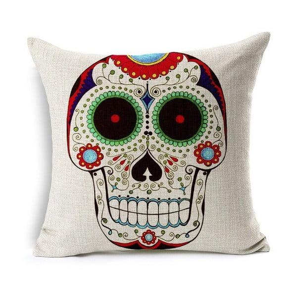 Obliečka na vankúš Sugar Skull, 45x45 cm